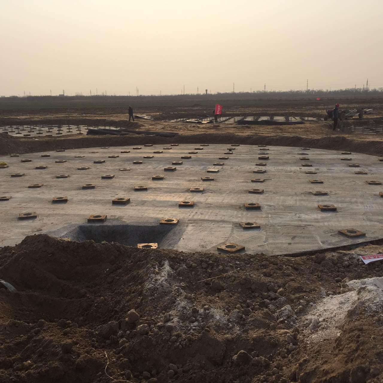 中裕食品厌氧罐桩基工程