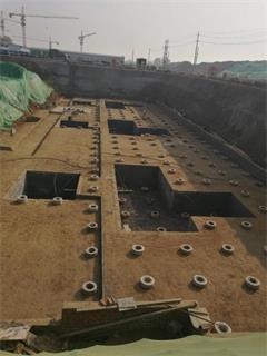 王奎楼项目施工现场